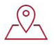 Hubspot location icon red