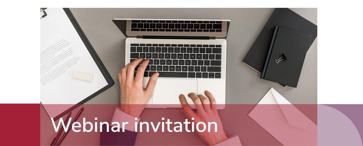 WEBINAR invitation BANNER